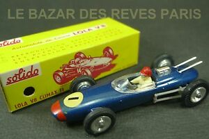 Solido France. Série 100. Lola Climax F1. Ref: 135. Boite.