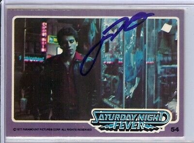 Dependable John Travolta Signed Autographed Trading Card Saturday Night Fever 54 Jsa U99021 At Any Cost Movies Entertainment Memorabilia
