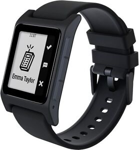 Pebble 2 SE Fitness Tracker Bluetooth Smartwatch for Android or iOS Black