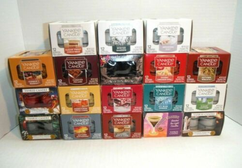 NEW You Pick Assorted Yankee Candle One Dozen Tealight Candles
