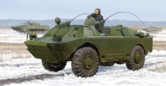 Russian Brdm-2um 1 35 Plastic Model Kit TRUMPETER