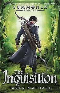 Summoner-the-Inquisition-Book-2-Paperback-by-Matharu-Taran-Brand-New-F