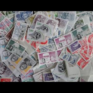 LOT DE 100 TIMBRES-POSTE A 1,6FFr VALEUR FACIALE 24€