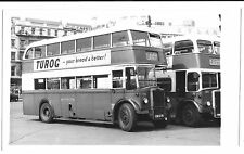 North Western Leyland Titan PD2/1 in Manchester on Route 28 PC Size BW Photo
