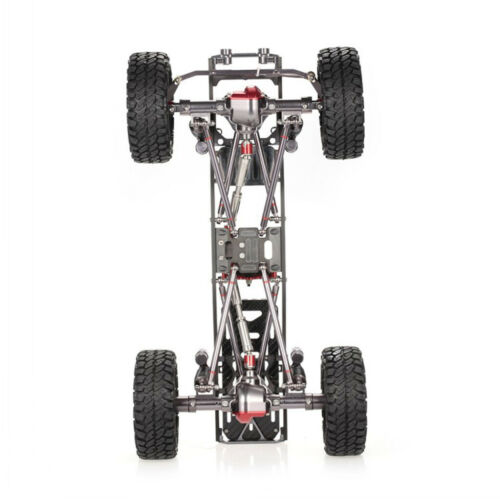 Aluminum Alloy RC Rock Crawler Chassis Frame Kit for 1:10 Axial SCX10 4WD