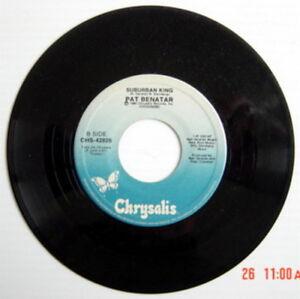 ONE-1984-039-S-45-R-P-M-RECORD-PAT-BENATAR-WE-BELONG-SUBURBAN-KING