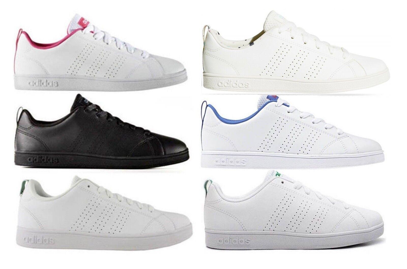 ADIDAS NEO CF ADVANTAGE CLEAN K scarpe stan donna smith sportive Baskets pelle