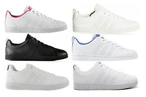 Dettagli su ADIDAS NEO CF ADVANTAGE CLEAN K scarpe stan donna smith  sportive sneakers pelle