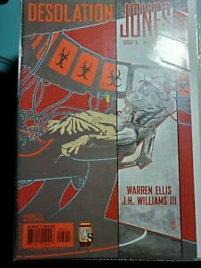 Desolation-Jones-5-VF-2006-Wildstorm-DC-Comic-Warren-Ellis-J-H-Williams-III