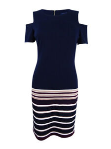eedcaa6d9f4 Tommy Hilfiger Women's Cold-Shoulder Sheath Dress | eBay