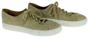 Common-Projects-Men-039-s-Tournament-Low-Waxed-Suede-Sneakers-Trainers-44-Eu
