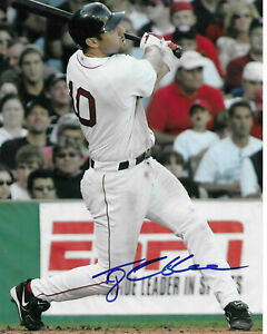 TONY GRAFFANINO Autographed Signed 8 x 10 Baseball Photo Boston Red Sox COA