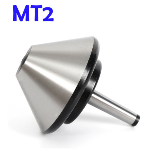 5/'/' MT2 Bull Nose Live Center Morse Taper Tool Arbor Bearing 75 Degree 120mm  US