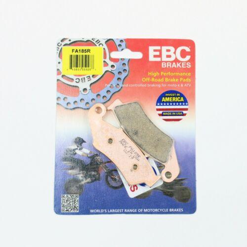 2003-2007 YAMAHA YZ450F 1 PAIR FRONT EBC HH RATED SINTERED DISC BRAKE PADS