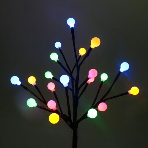 Outdoor Solar Garden Lights LED Solar Decor Solar Powered Flowers Tree Lights