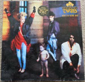 Thompson-Twins-Here-039-s-To-Future-Days-1985-vinyl-LP-with-bonus-LP-of-remixes