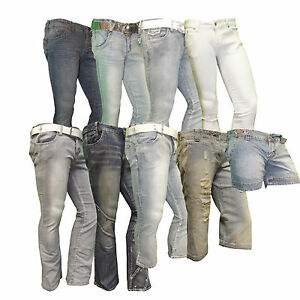 Ladies-Miss-Posh-Womens-Jeans-And-Trousers-Denim-Or-Pvc-Faux-Leather-New-Superb