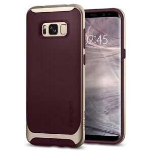 on sale 91e61 7a451 Details about Spigen® Samsung Galaxy S8 Plus [Neo Hybrid] Shockproof Bumper  Case TPU Cover