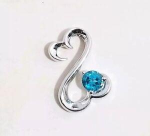 74118491a Image is loading Kay-Jewelers-Jane-Seymour-Blue-Topaz-December-Birthstone-