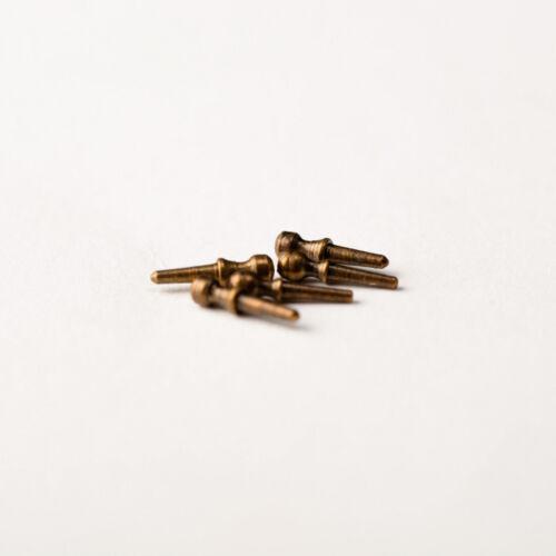 100 Stücke Modell Amati AM4101-07 Gerafften Brüniert 7 MM