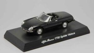 1-64-Kyosho-Alfa-Romeo-1750-Spider-Veloce-Black