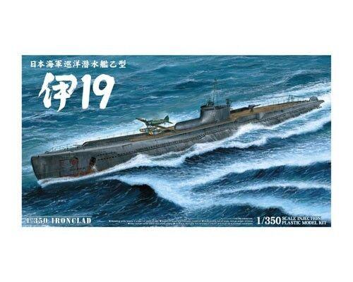 Aoshima 1 350 Ironclad Submarine I-19