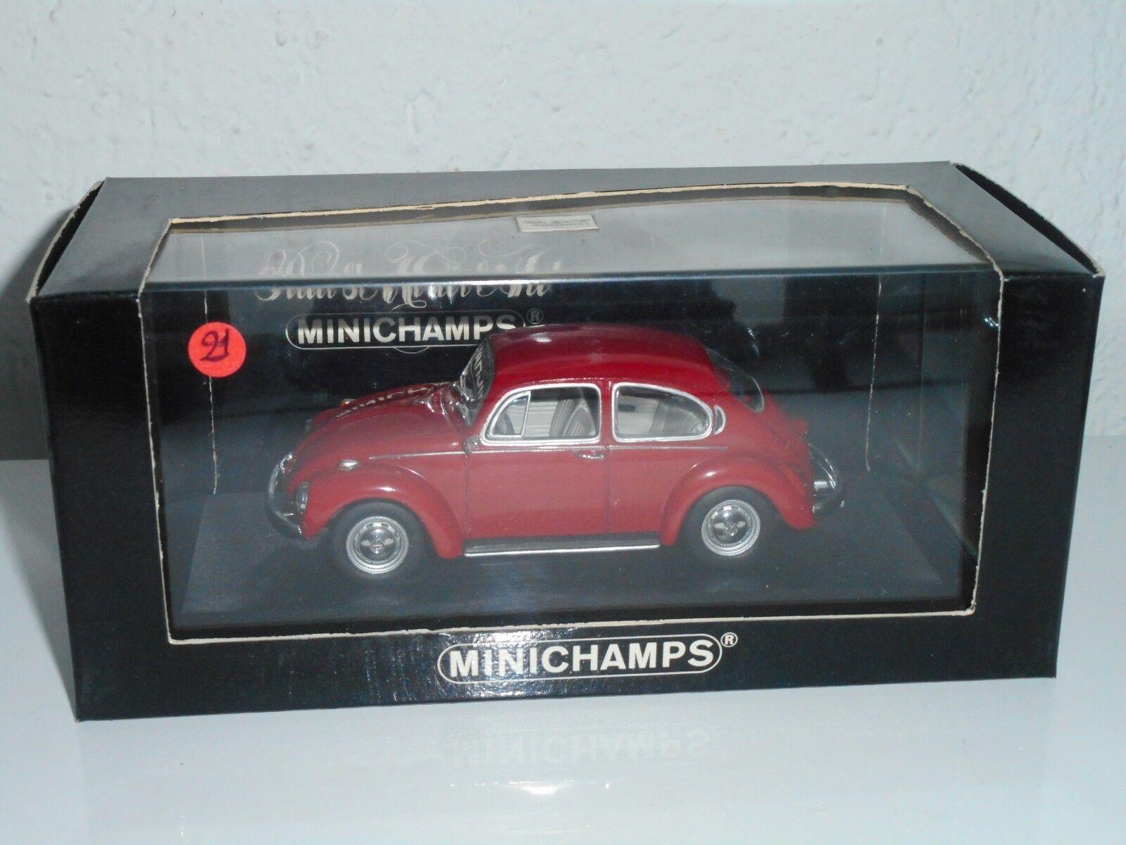 MINICHAMPS  1 43 vintage  N°21   de 100    VOLKSWAGEN 1302 Saloon 1970