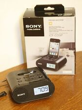 "SONY ""Dream Machine"" Alarm Clock. FM iPhone iPod Dock. ICF-C05iP"