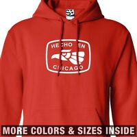 Hecho En Chicago Hoodie - Hooded Made In Chitown Illinois Sweater Sweatshirt