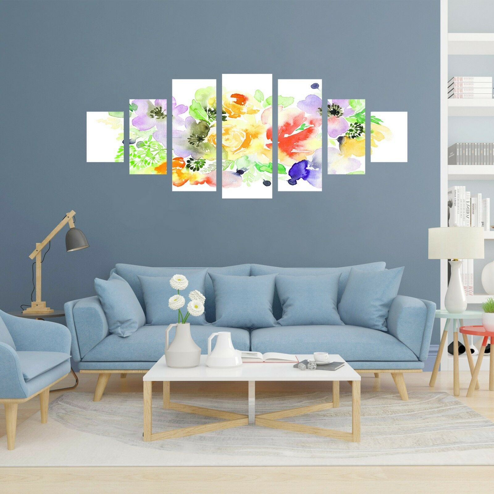 3D Painted Flowers 567 Unframed Print Wall Paper Decal Wall Deco Indoor AJ Wall