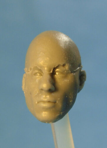 "MH263 Custom Cast head use w//3.75/"" Star Wars GI Joe Acid Rain action figures"