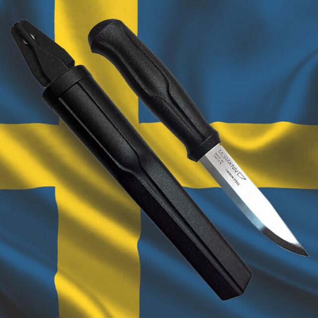 Morakniv 510 Carbon Steel Blade Mora Of Sweden Hunting Bushcraft Carving Knife