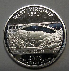 2005-S PROOF WEST VIRGINIA  QUARTER