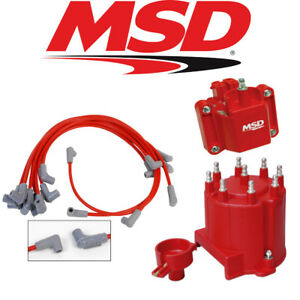 msd ignition tuneup kit 87 95 chevy gmc ext coil 5 0 5 7l cap rotor coil wires ebay. Black Bedroom Furniture Sets. Home Design Ideas