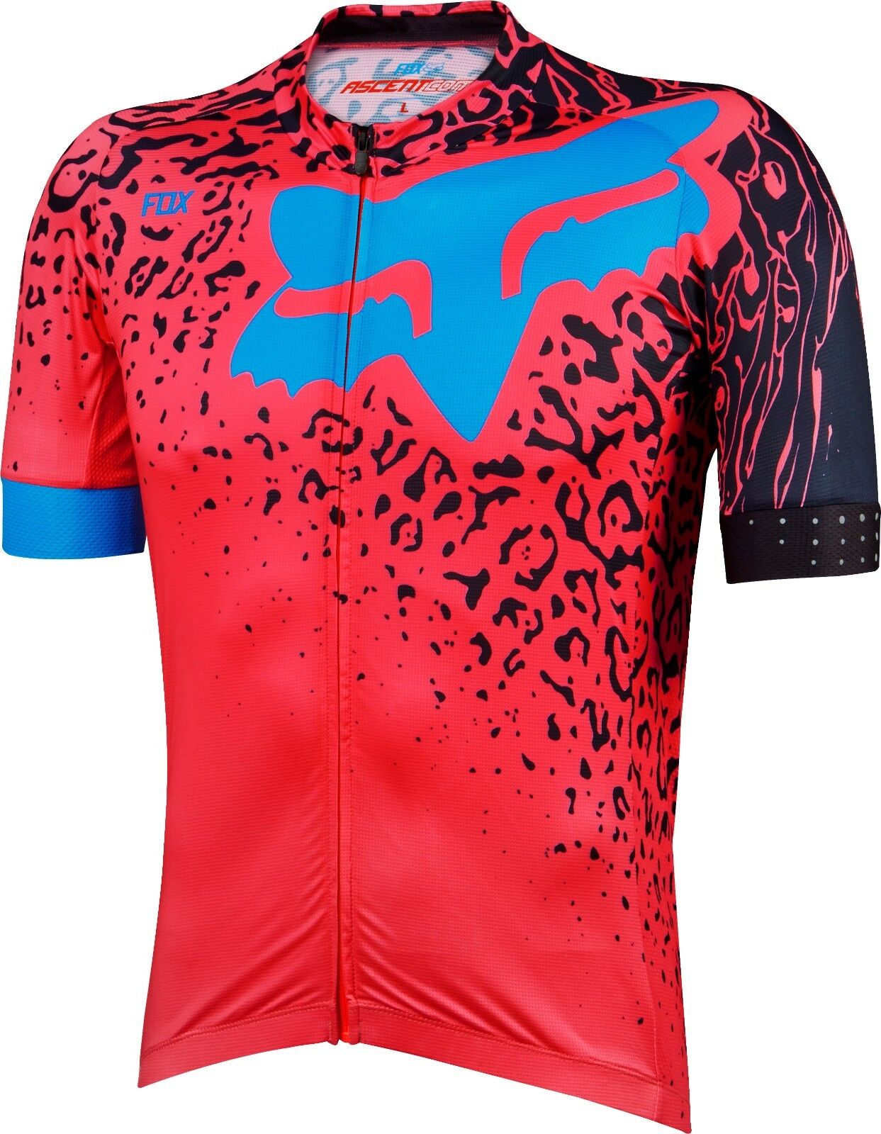 Fox Racing Ascent Comp s s Jersey Neo Red