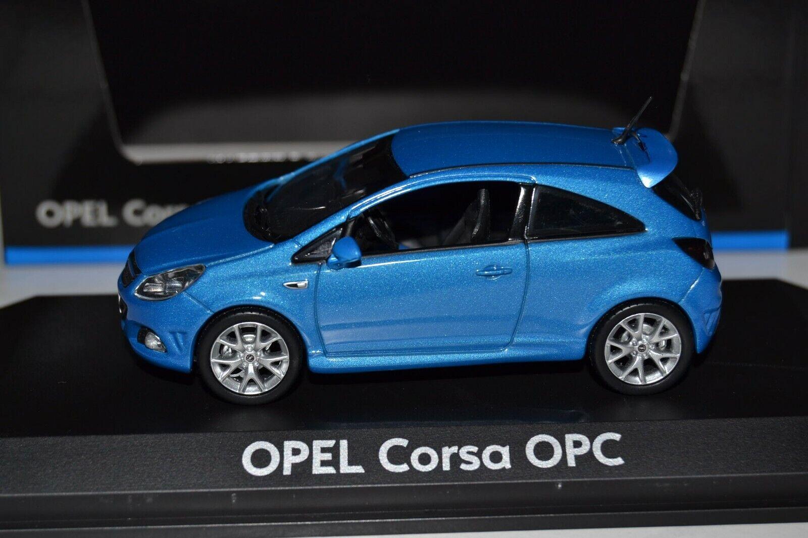1 43 Norev Opel Corsa D OPC Ardenenblue Metallic 2007-2011