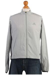 Adidas-Chandal-Parte-Superior-Traje-De-Cascara-Retro-Vintage-Chaqueta-Tamano-L-SW1436