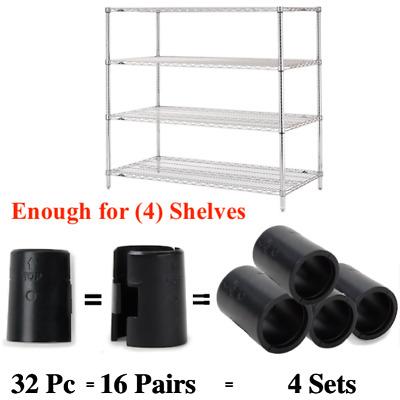 Wire Shelf Clips Shelving Split Sleeves