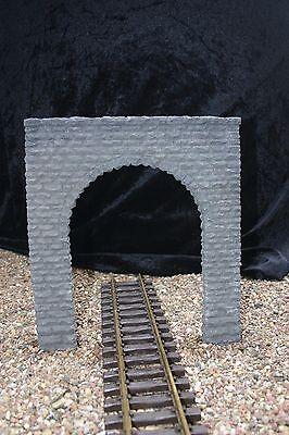 Obbiettivo #2 Tunnel Portale Rottura Pietra 4 Colori Di Gesso Cemento O. Antigelo Giardino Lgb Treno-mostra Il Titolo Originale