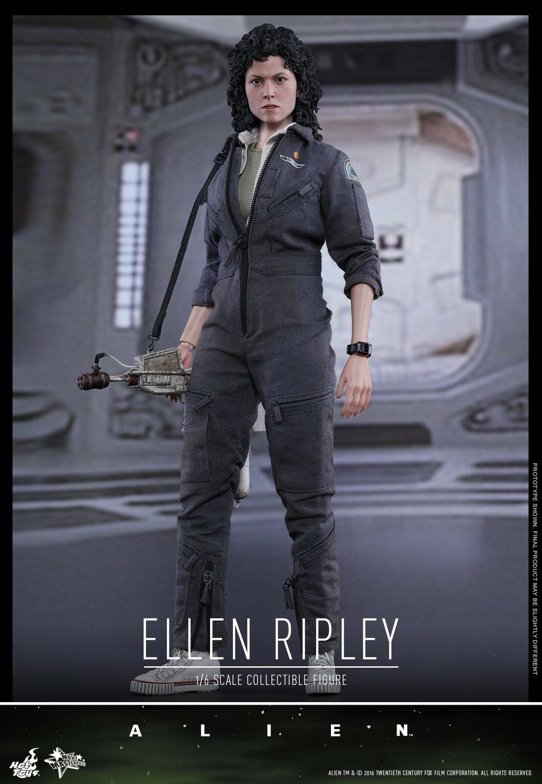 Hot Toys 16 MMS366 Alien Ellen Ripley con Gato Figura De Acción Nueva