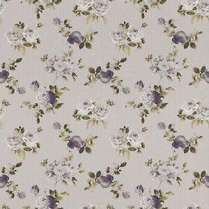 Détails sur Papier Peint 288994 Petite Fleur 4 Rose Gris Clair Mauve