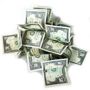 Deluxe SPRING MONEY $50 DOLLAR BILLS Magic Production Bouquet Joke Gag Pops Open