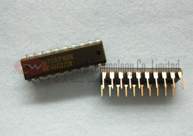 TI SN74HC273N SN74LS273N Flip Flop D-Type Bus Interface DIP20 x 10pcs