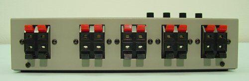 LUXMAN Speaker Line Selector Silver Gray AS-5III From Japan NEW