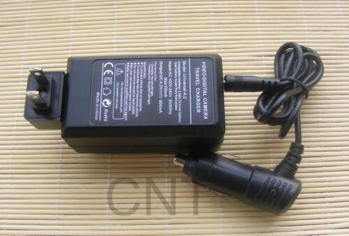 2 Paquete de Batería y Cargador para Sanyo VPC-J4 E7 E60 E6 CG6 CG9 CA9 CA8 C6 C5 C40