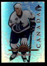 Trevor Linden 250 Universal Ice REFRACTOR RARE 1997-98 Leaf International #39