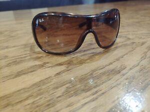 Ray-Ban-Brown-Retro-1980-039-s-Tortoise-oversized-sunglasses-unisex