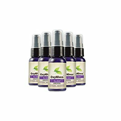 Oxyhives All Natural Hives Solution Get Rid Of Redness Itching And Rashes Ebay
