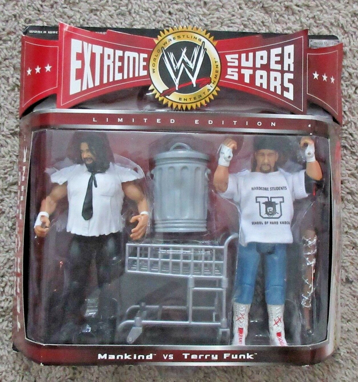 WWE CLASSIC SUPERSTARS EXTREME MANKIND MANKIND MANKIND VS TERRY FUNK NEW RARE WWF WCW ECW 193371