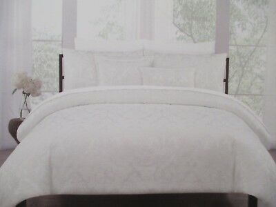 New Nicole Miller 3pc Woven Jacquard, Nicole Miller Artelier Bedding Blue